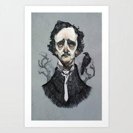 Mr. Poe  Art Print