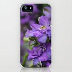Purple Larkspur Slim Case iPhone (5, 5s)