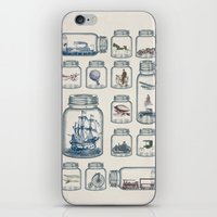 led zeppelin iPhone & iPod Skins featuring Vintage Preservation by Paula Belle Flores