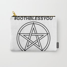 #GOTHBLESSYOU INVERSE Carry-All Pouch