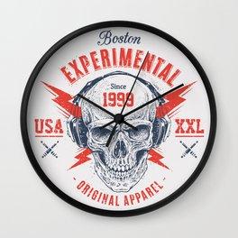Boston Experimental Wall Clock