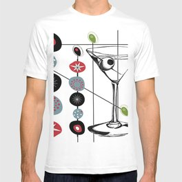 Mid-Century Modern Art Atomic Cocktail 3.0 T-shirt