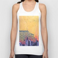 denver Tank Tops featuring denver by Saari Shelhart