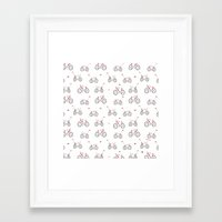 bikes Framed Art Prints featuring bikes by Marcelo Badari