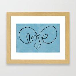 Eternalove Framed Art Print