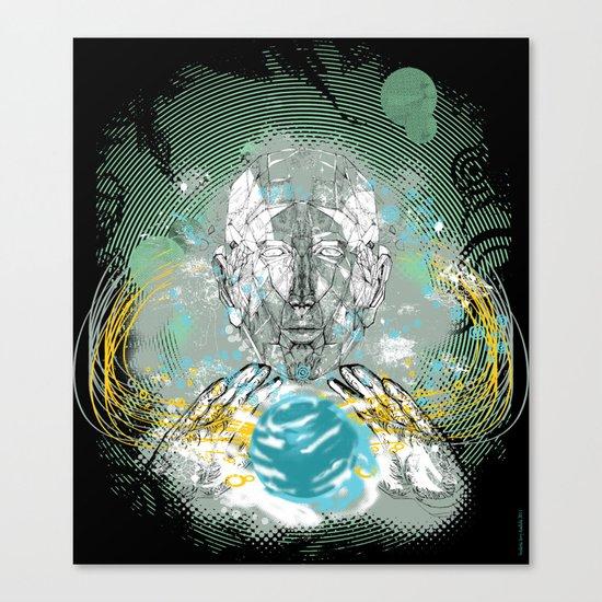 spatial golem Canvas Print