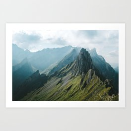 Wild Mountain - Landscape Photography Art Print