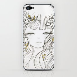 Miho (美穂) iPhone Skin