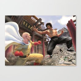 ONE (INCH) PUNCH MAN Canvas Print