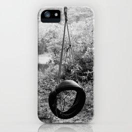 Vintage Tire Swing iPhone Case