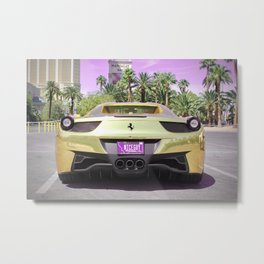 Exotic car Metal Print