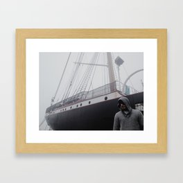 Seaport Phantom Framed Art Print
