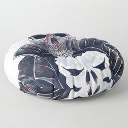 Punisher Skull Floor Pillow