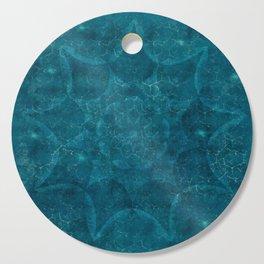 Blue Lagoon Cutting Board
