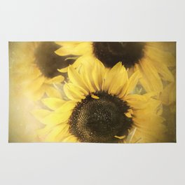 Sunshine With Petals Rug