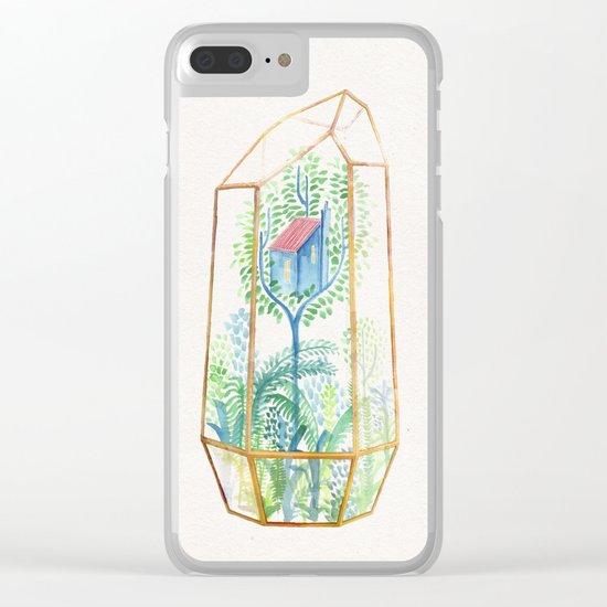 Terrarium III Clear iPhone Case