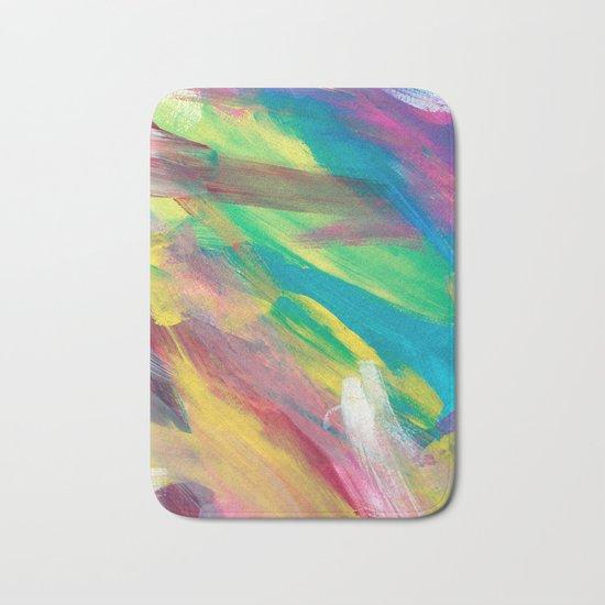 Abstract Artwork Colourful #2 Bath Mat