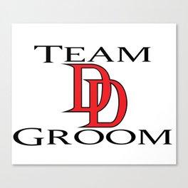 DareDevil Team Groom Canvas Print