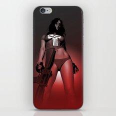 Lady Punisher iPhone & iPod Skin