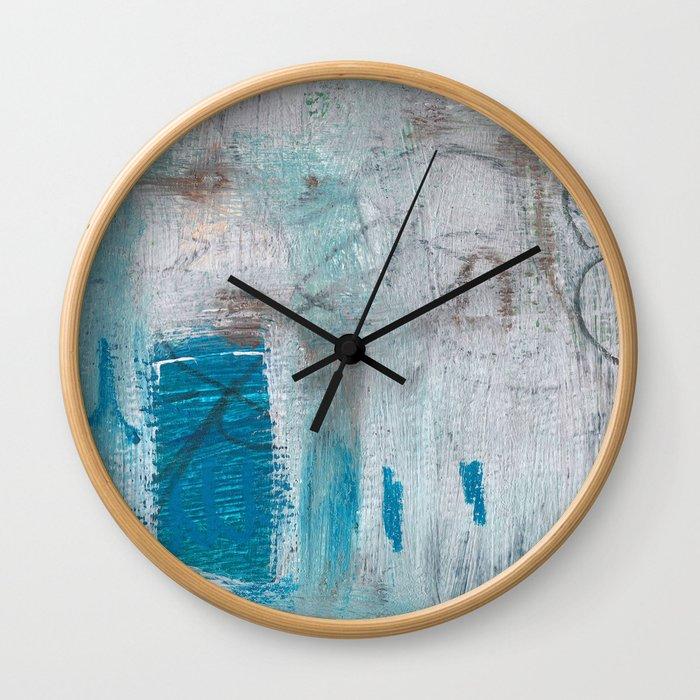 Come Swimming Wall Clock