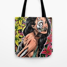 BEAUTIFUL AND FLOWERS Tote Bag