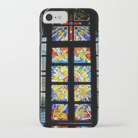 stained glass iPhone & iPod Cases featuring Stained Glass by Sean Foreman
