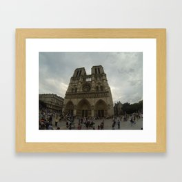 Notredame Framed Art Print