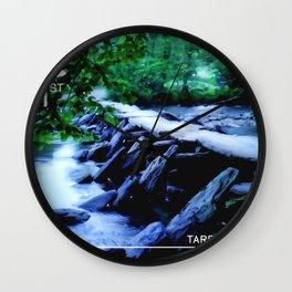 Tarr Steps Wall Clock