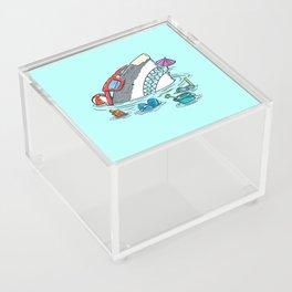 Beach Party Shark Acrylic Box