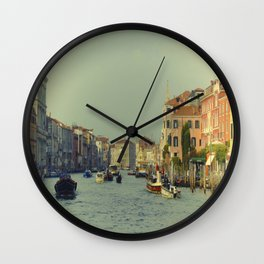 Venice, Grand Canal 1 Wall Clock