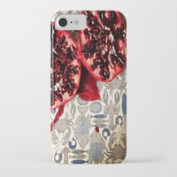 pomegranate iPhone & iPod Cases featuring Pomegranate  by Carey Lee Designs
