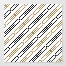 G Pattern Canvas Print
