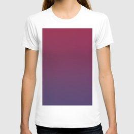 DESTINATION - Minimal Plain Soft Mood Color Blend Prints T-shirt