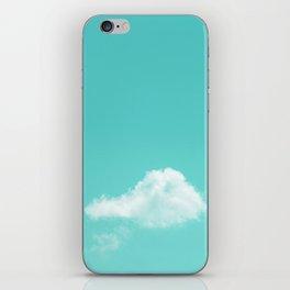 Nube cian iPhone Skin
