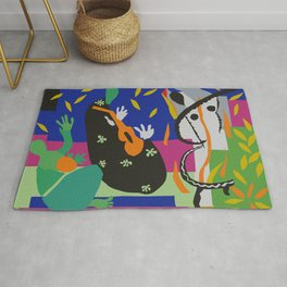 Matisse Cut Out Collage Rug