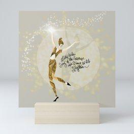 Universal dance Mini Art Print