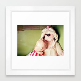 dolls Framed Art Print