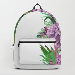 Floral Pineapple 1 Backpack