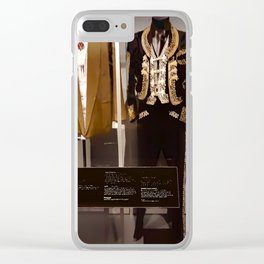 Stevie Ray Vaughan Exhibit - Family Style Clear iPhone Case