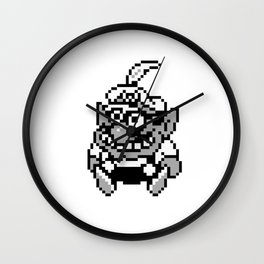 Wario 2 Wall Clock