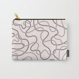 Lucky Curves Carry-All Pouch