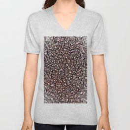 The Web Of Theatrical Neurons Unisex V-Neck