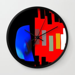 Internal Conflict Wall Clock