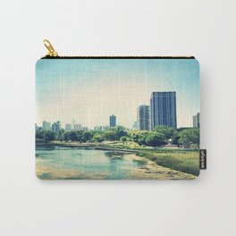 Pond Inside Concrete Jungle  Carry-All Pouch