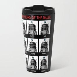Expressions Of The Dalek Travel Mug