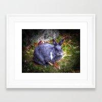 tiffany Framed Art Prints featuring Tiffany by Athenean Gemini