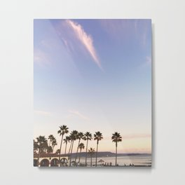 New Years in Baja Metal Print
