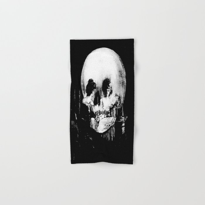 All Is Vanity: Halloween Life, Death, and Existence Hand & Bath Towel
