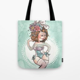 Burlesque Tote Bag