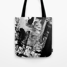 Black and White 01013 Tote Bag